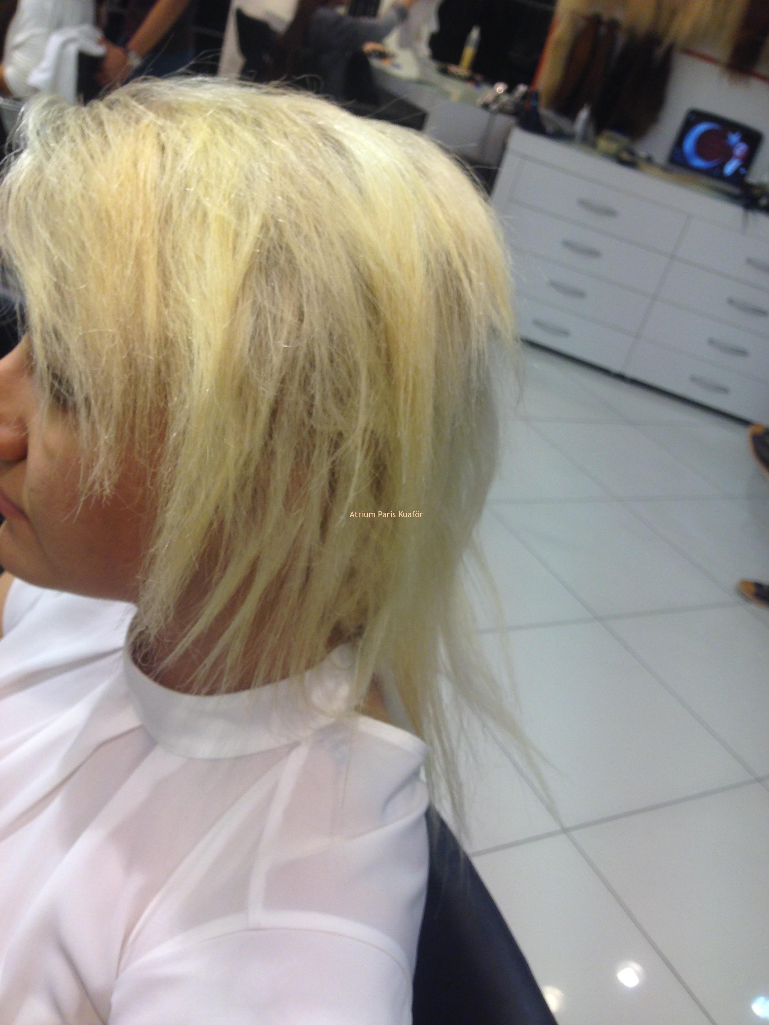 kısa saç kaynak modeli