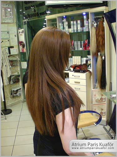 boyalı saçlar