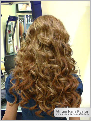 canlı saçlar