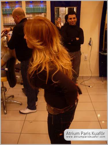 cansız saçlar