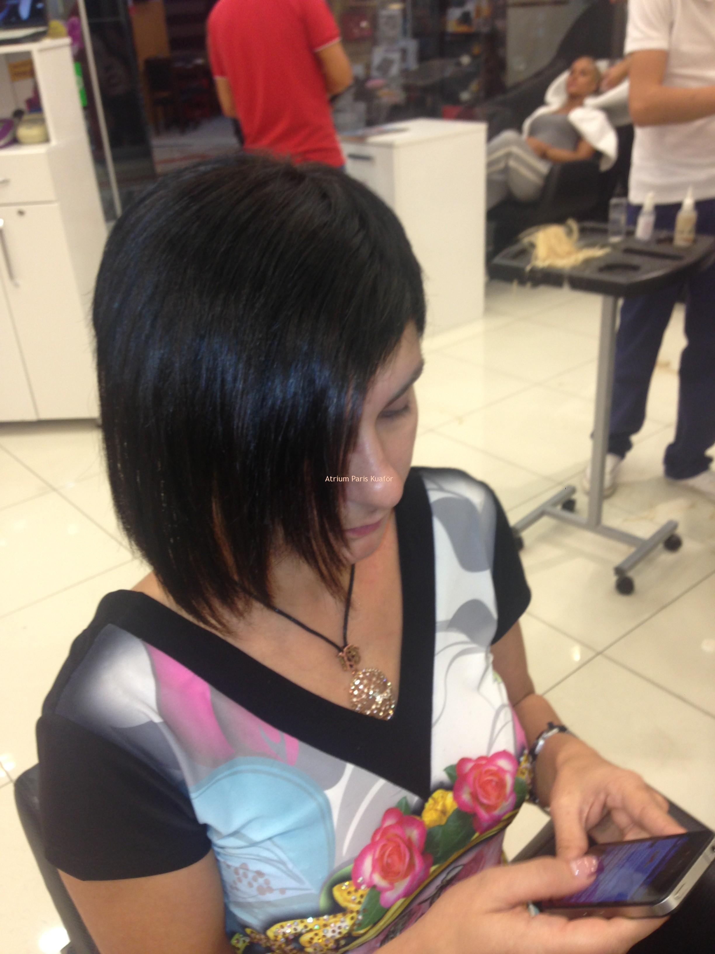 kısa saç kaynak