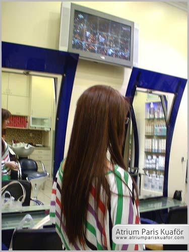 kırık saçlar