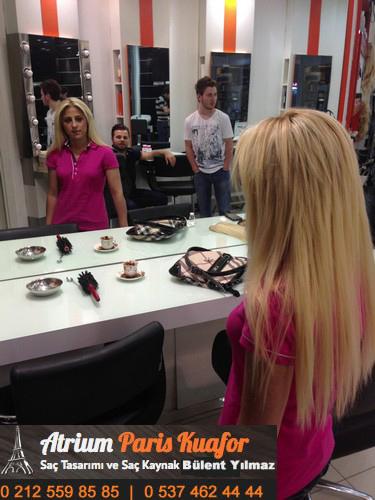 halka kaynaklı saç modelleri