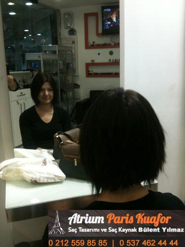 farklı halkalı kaynak saçlar