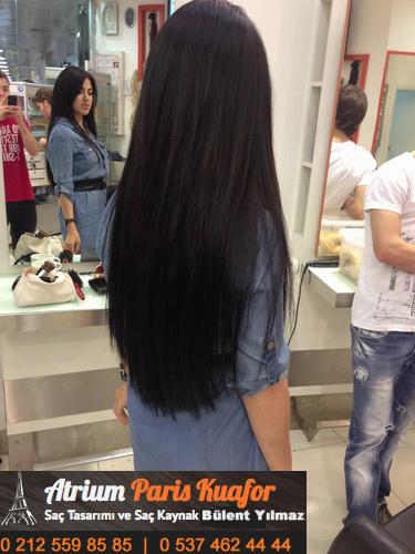 halka kaynaklı saç stilleri