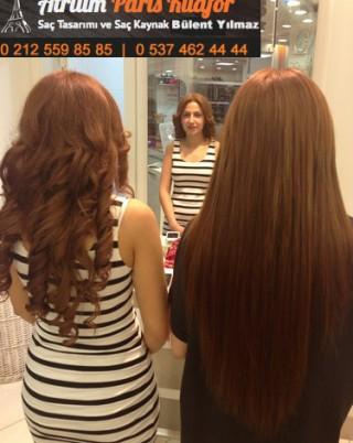 Saçınıza Boncuk Kaynak Yaptırın