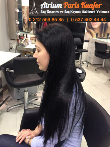 kısa saça halka kaynak