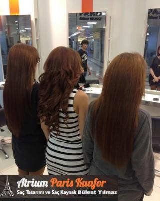 Kaynak Saç Kullanımı