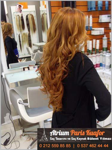 bal köpüğü saç rengi